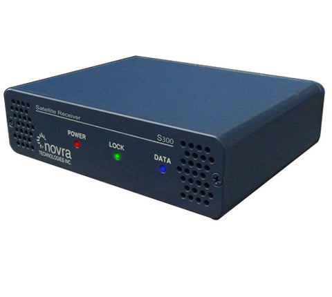 Novra S300V DVB-S2 Satellite Data and Video Receivers