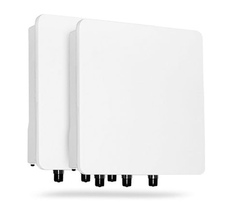 Tsunami QB-8200 Link, 300 Mbps, MIMO 3x3, Type-N Connectors (Two QB-8200-EPA-WD)