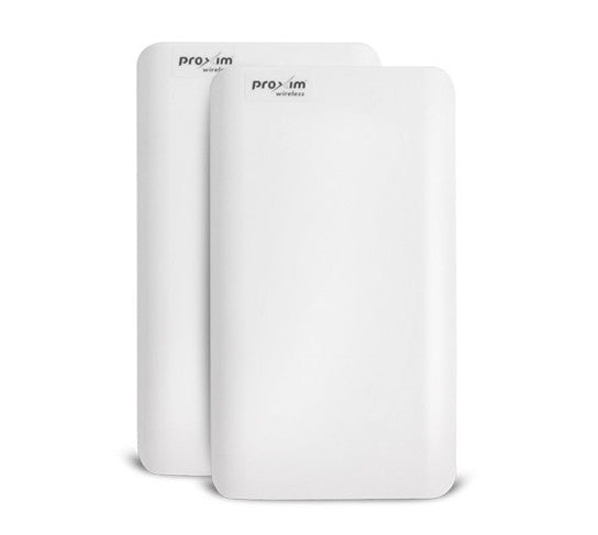 Tsunami QB-825 Link ,100 Mbps up,  MIMO 2x2,  15 dBi integrated antenna- WD PoE (Two QB-825-EPR-100-WD)