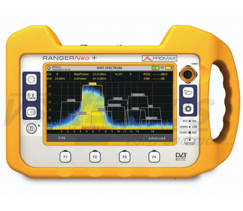 Promax RANGERNeo + : Advanced Multifunction TV & Satellite Analyser