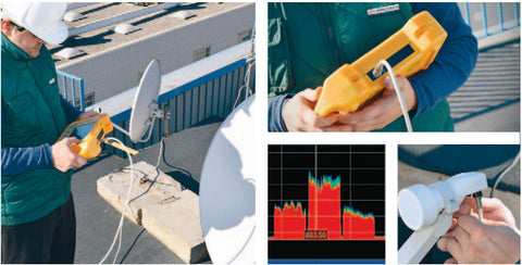 Promax RANGERNeo Lite: Multi-function TV and Satellite spectrum analyzer
