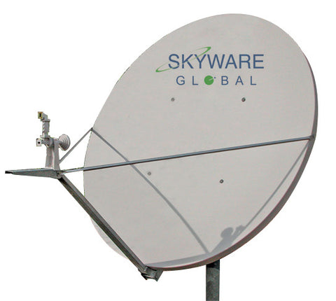 Skyware Global Antenna 2.4m Tx/Rx C-Band Circular Type 243 Class III