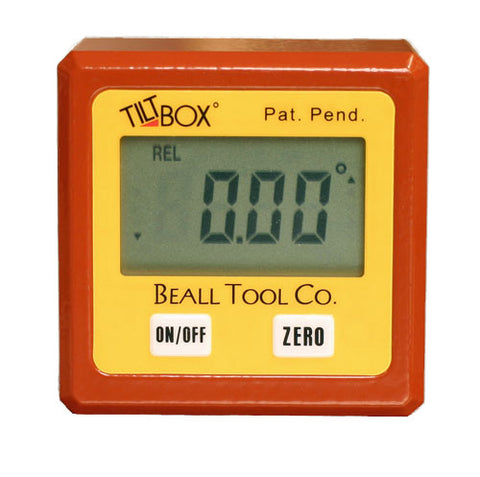 Beall Tool Tilt Box II Digital Inclinometer