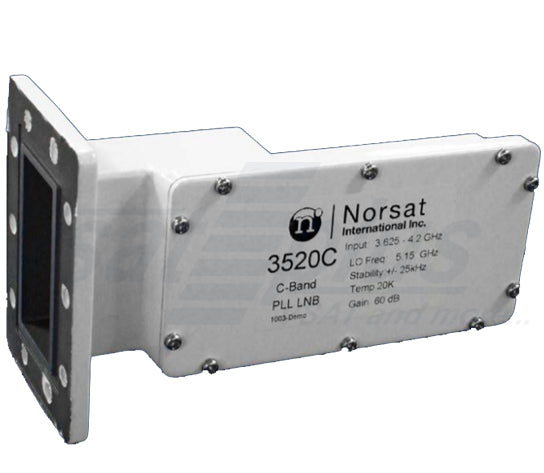 Norsat 3125C Series High Stability C-band PLL LNB +/-5 kHz