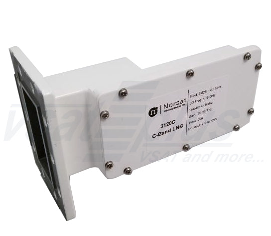 Norsat 3230 Series High Stability C-BAND PLL LNB ±10 kHz