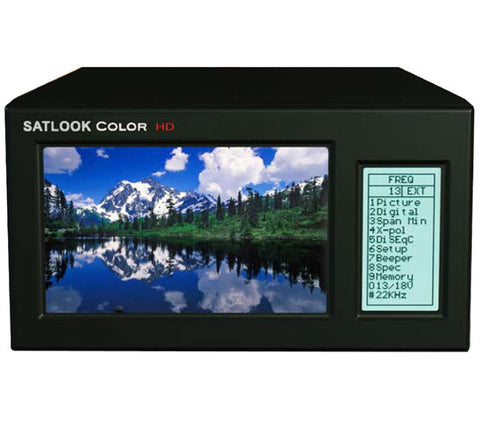 Emitor Satlook Color HD DVB-S/S2 Spectrum Analyzer