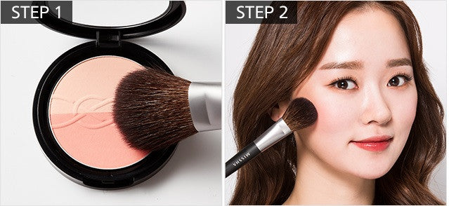 MISSHA Artistool Cheek & Highlighter Brush #206 blusher usage