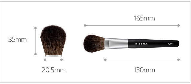 MISSHA Artistool Cheek & Highlighter Brush #206 features