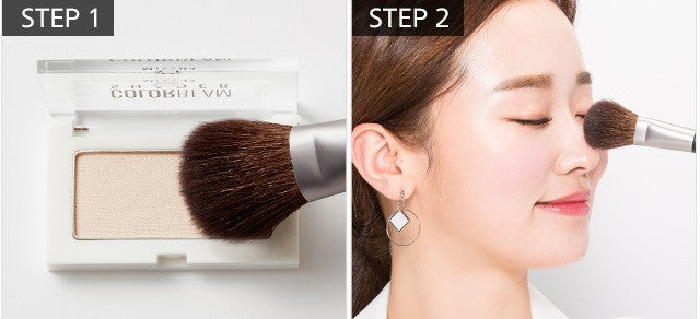 MISSHA Artistool Cheek & Highlighter Brush #206 highlighter usage