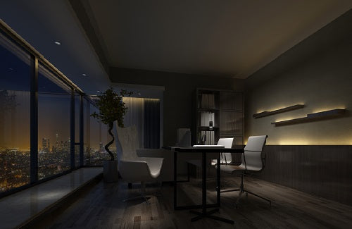 Dimming Lights Lounge Room 2