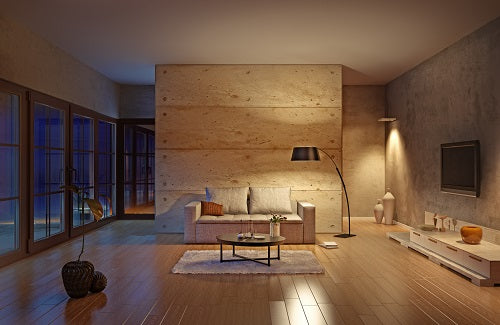 Dimming Lights Lounge Room 1