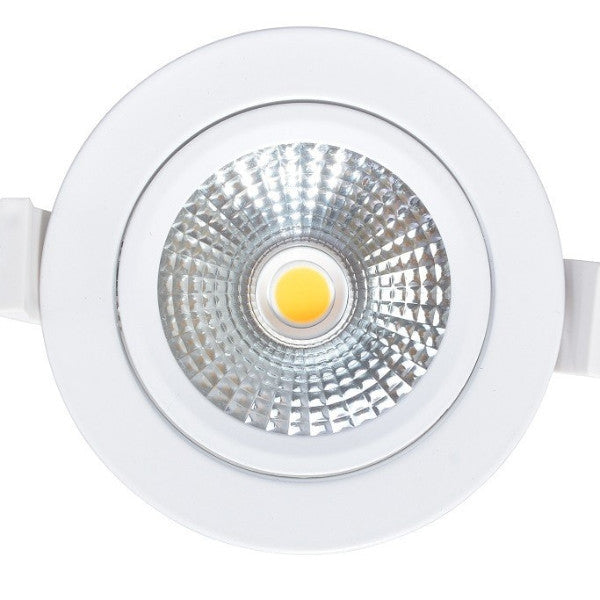 Downlight - Dimmable 12W LED Gimble Downlight MS-GS-DL106-12W Geshide - moodLED - 1