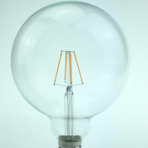 Dimmable Vintage LED Filament Bulb G125 E27 2W - 8W 2400K
