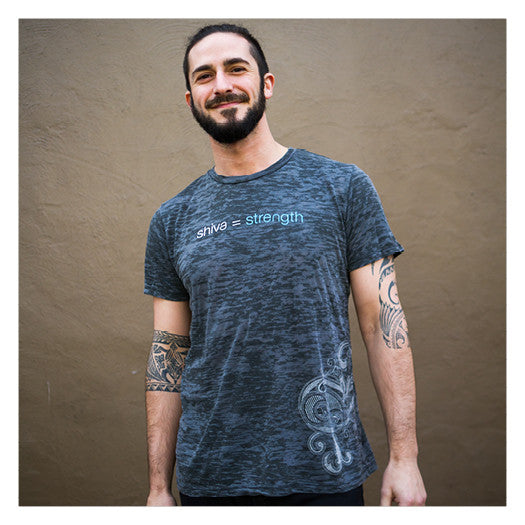 Shiva = Strength Gray Tee - SALE