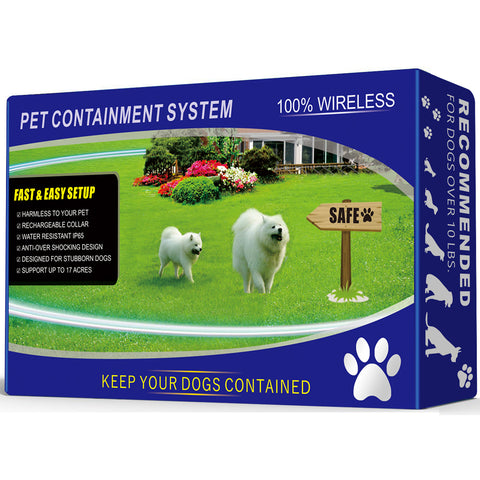 Wireless Pet Containment [Black]