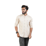 Load image into Gallery viewer, CHESTNUT BUTTER SATIN COTTON SHIRT