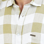 Load image into Gallery viewer, GREEN WHITE SMALL CHECKS SHIRT