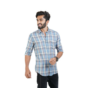 MULTYI CHECKS RAYON SHIRT