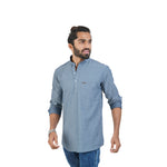 Load image into Gallery viewer, SELF DESIGN KURTA SHIRT