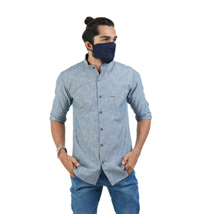 SELF DESIGN CASUAL SHIRT