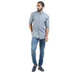 Load image into Gallery viewer, SELF DESIGN CASUAL SHIRT