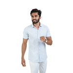 Load image into Gallery viewer, WHITE PRINTED CASUAL SHIRT