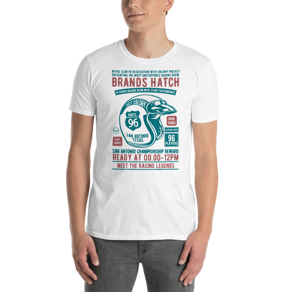 Motorcycle Racing Show Short-Sleeve Unisex T-Shirt