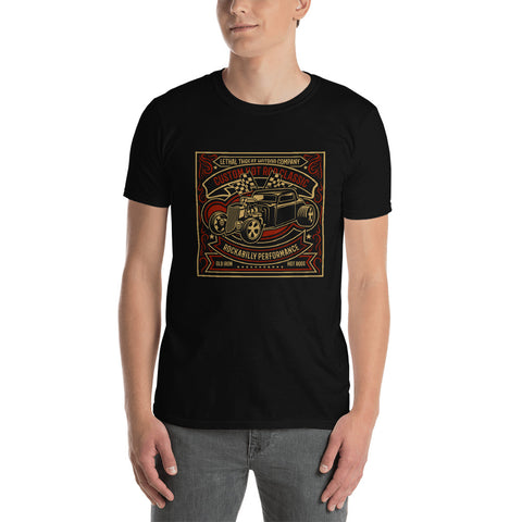 Custom Hot Rod Rockabilly Short-Sleeve Unisex T-Shirt