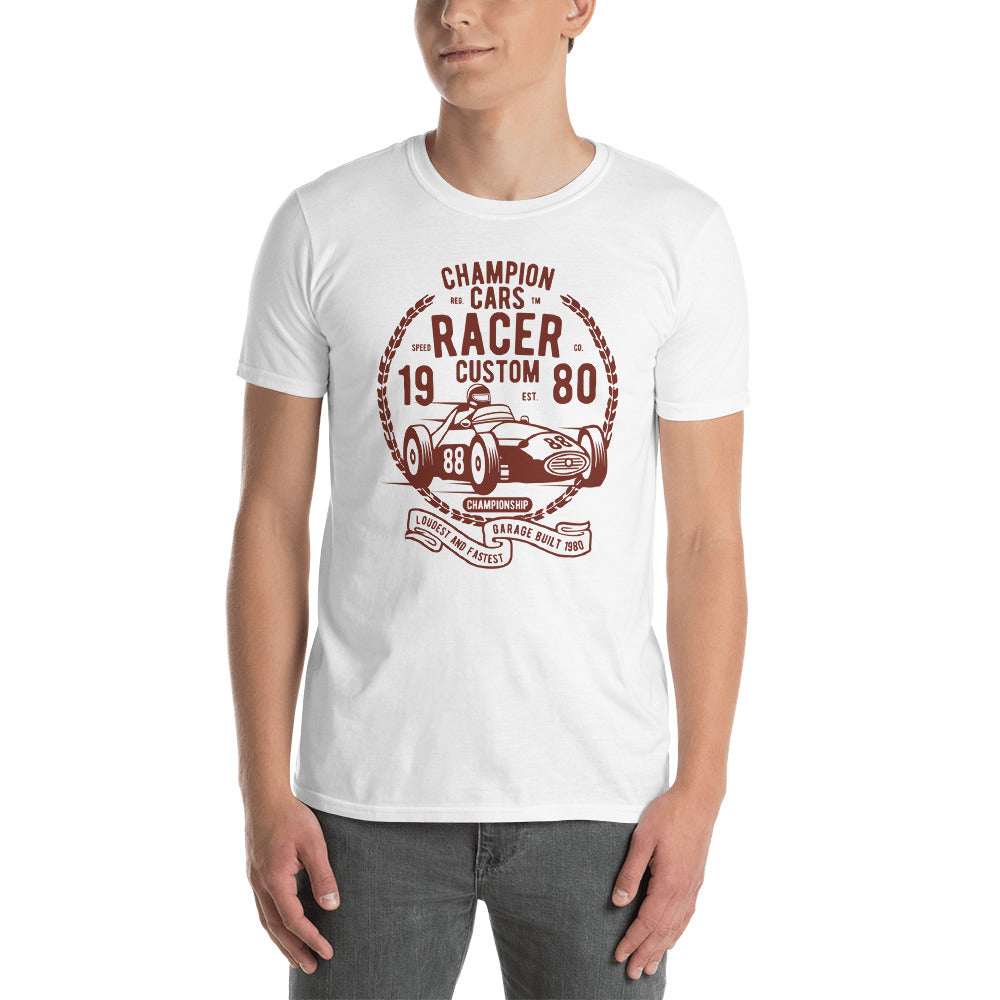 Champion Cars Racer Short-Sleeve Unisex T-Shirt