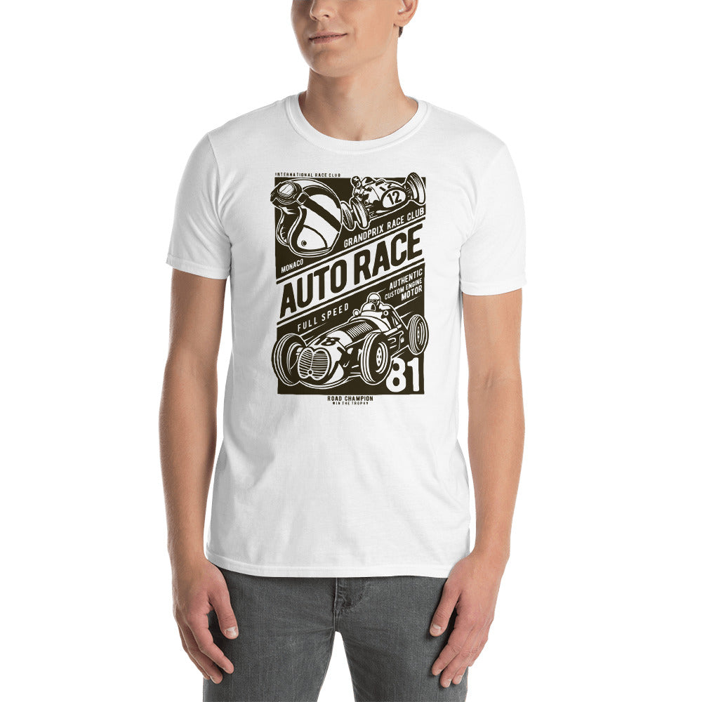 Auto Race Short-Sleeve Unisex T-Shirt