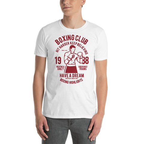 Boxing Club Short-Sleeve Unisex T-Shirt