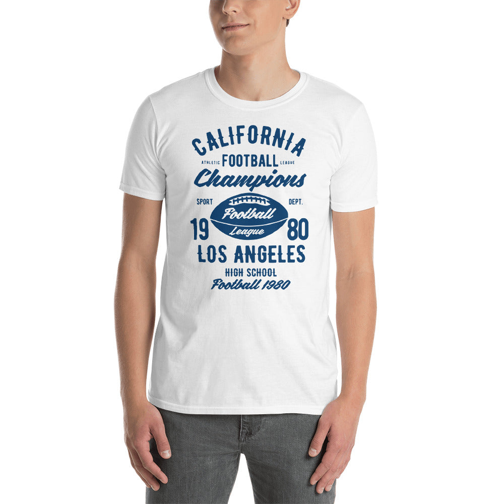 LA Football Short-Sleeve Unisex T-Shirt