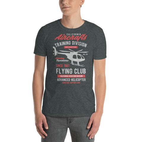 Aircrafts Flying Club Short-Sleeve Unisex T-Shirt