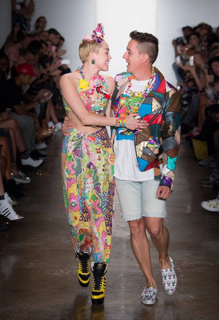 MILEY CYRUS X JEREMY SCOTT X PHARRELL WILLIAMS