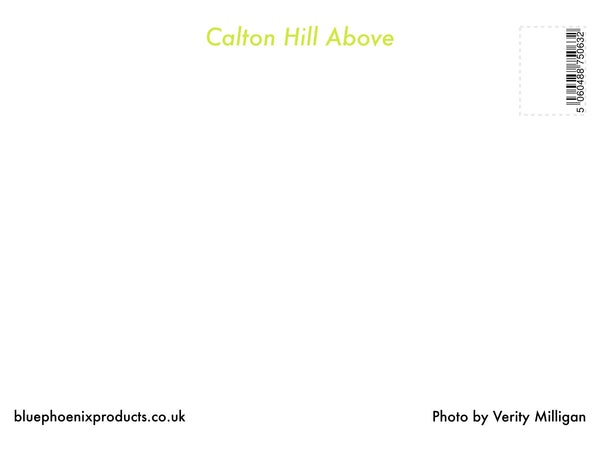 Calton Hill Above Postcard - Blue Phoenix City Products Uk