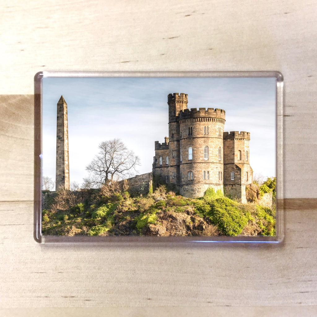 Calton Hill Above Magnet - Blue Phoenix City Products Uk