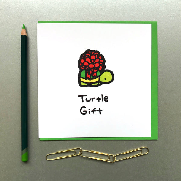 Turtle Gift Card - Blue Phoenix City Products Uk