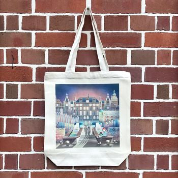 Sheffield Tote Bag - Blue Phoenix City Products Uk