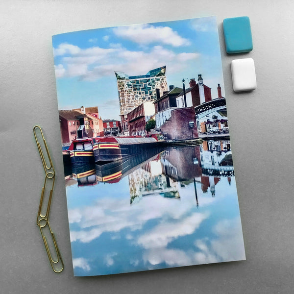 A5 Birmingham Notebook - Blue Phoenix City Products Uk