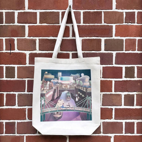 Birmingham Tote Bag - Blue Phoenix City Products Uk