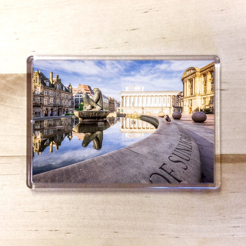 Birmingham Floozie Magnet - Blue Phoenix City Products Uk