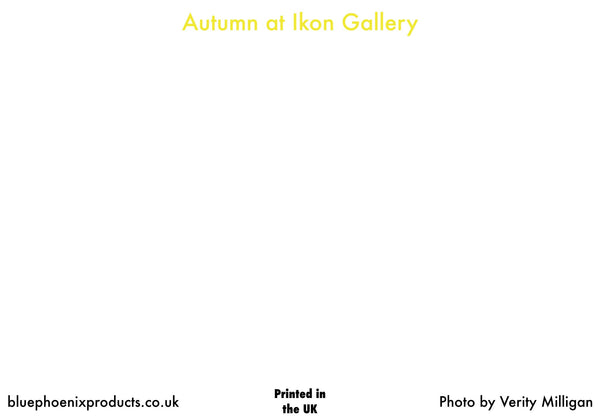 Ikon in Autumn Postcard - Blue Phoenix City Products Uk