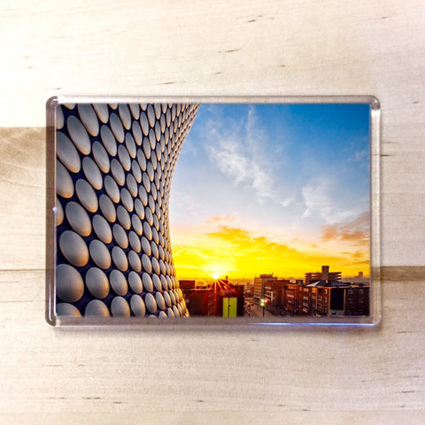Selfridges Magnet - Blue Phoenix City Products Uk