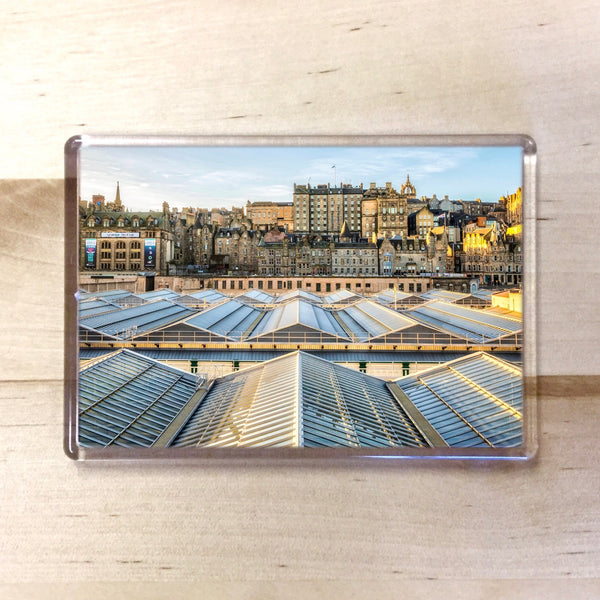 Edinburgh Waverley Magnet - Blue Phoenix City Products Uk