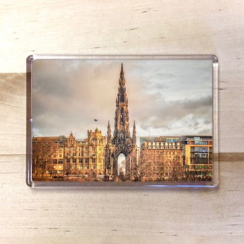 Scott Monument Magnet - Blue Phoenix City Products Uk