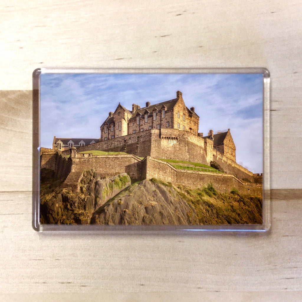 Edinburgh Castle  Magnet - Blue Phoenix City Products Uk