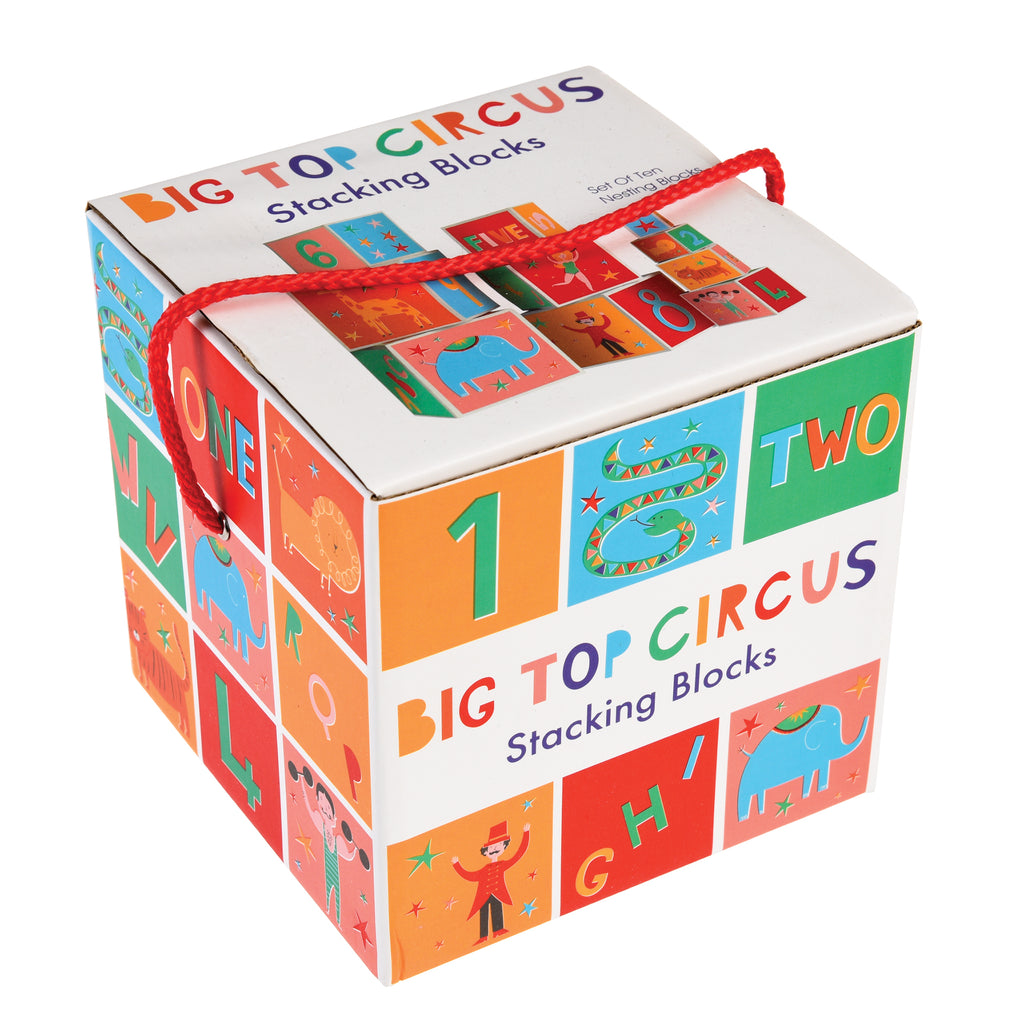 Circus Stacking Blocks