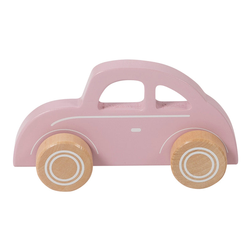 Wooden Car Pink