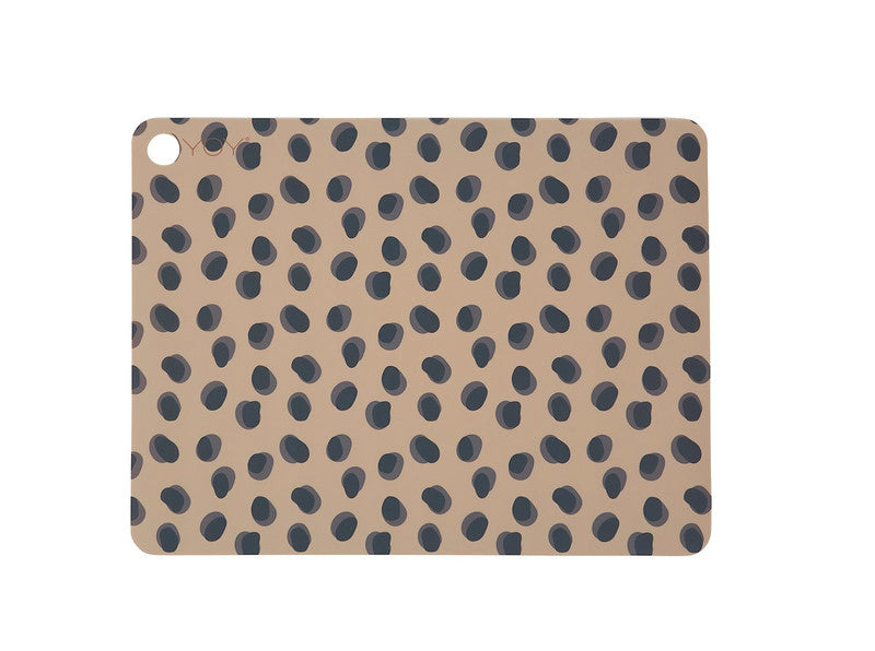 PLACEMAT LEOPARD - LIGHT Beige set of 2