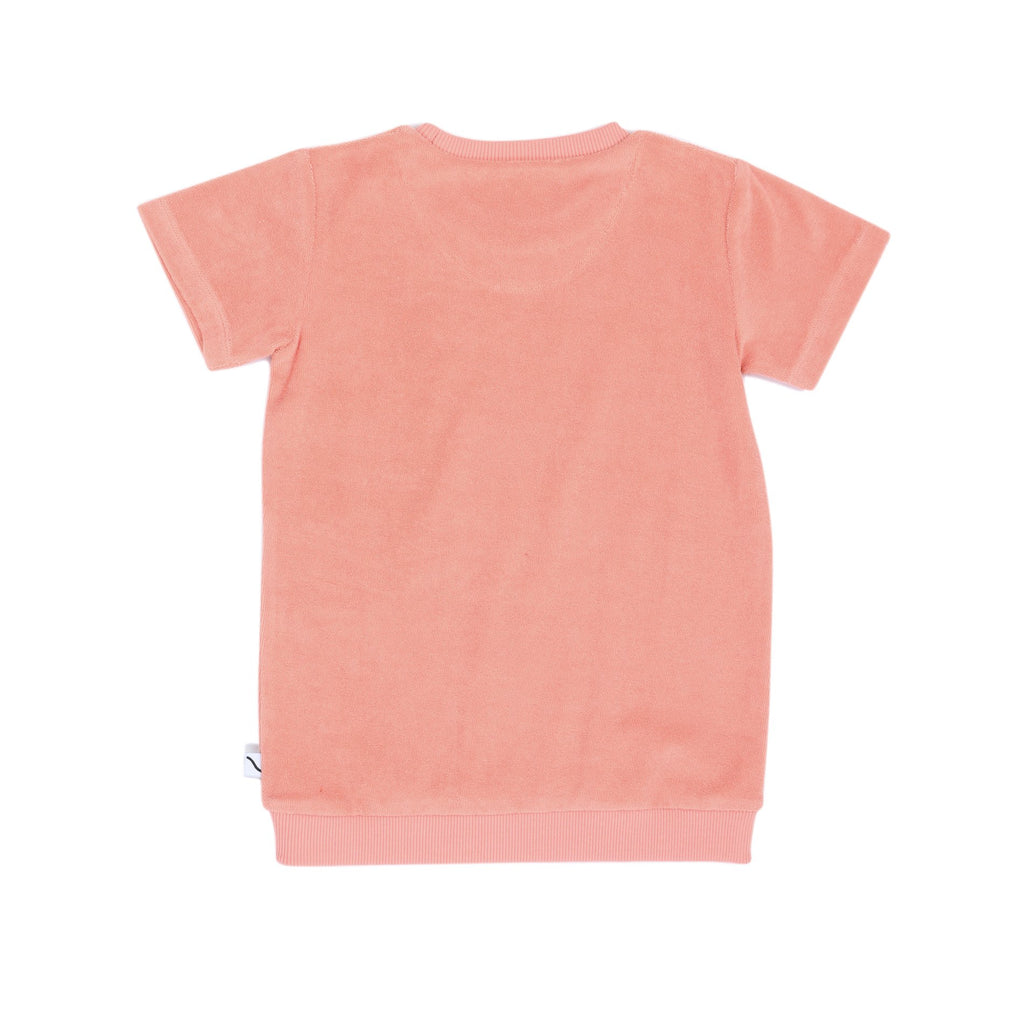 SWEATER SHORTSLEEVE Pink